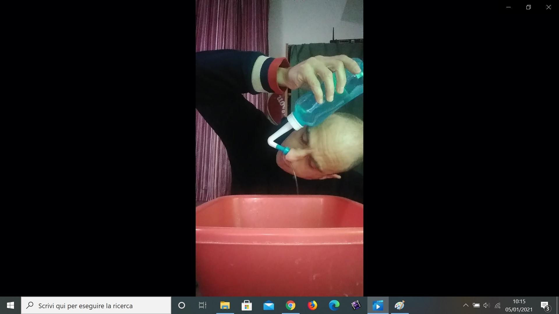 Come Faccio il Lavaggio Nasale(con VIDEO)